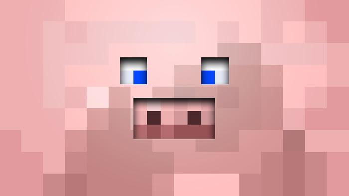 Minecraft Fondos Pantalla de Cerdo