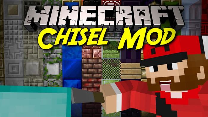 Chisel 2 Mod para Minecraft 1.7.10
