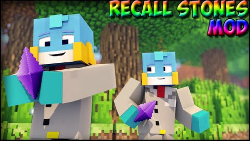 Recall Stones Mod para Minecraft 1.7.10
