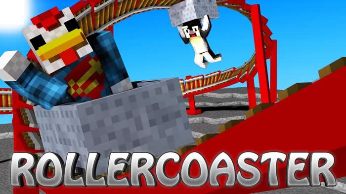 Rollercoaster Mod para Minecraft 1.7.10