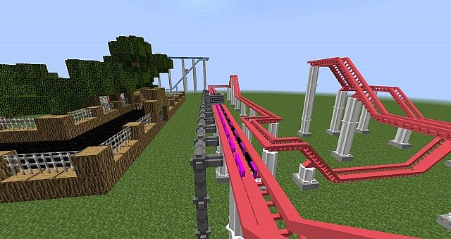 Rollercoaster Mod 1.7.10 Captura de pantalla 2