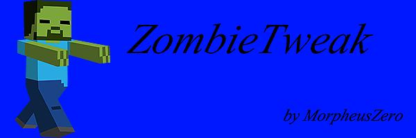 ZombieTweak Mod para Minecraft 1.6.2