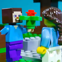 Lego Minecraft – Historia De Amor