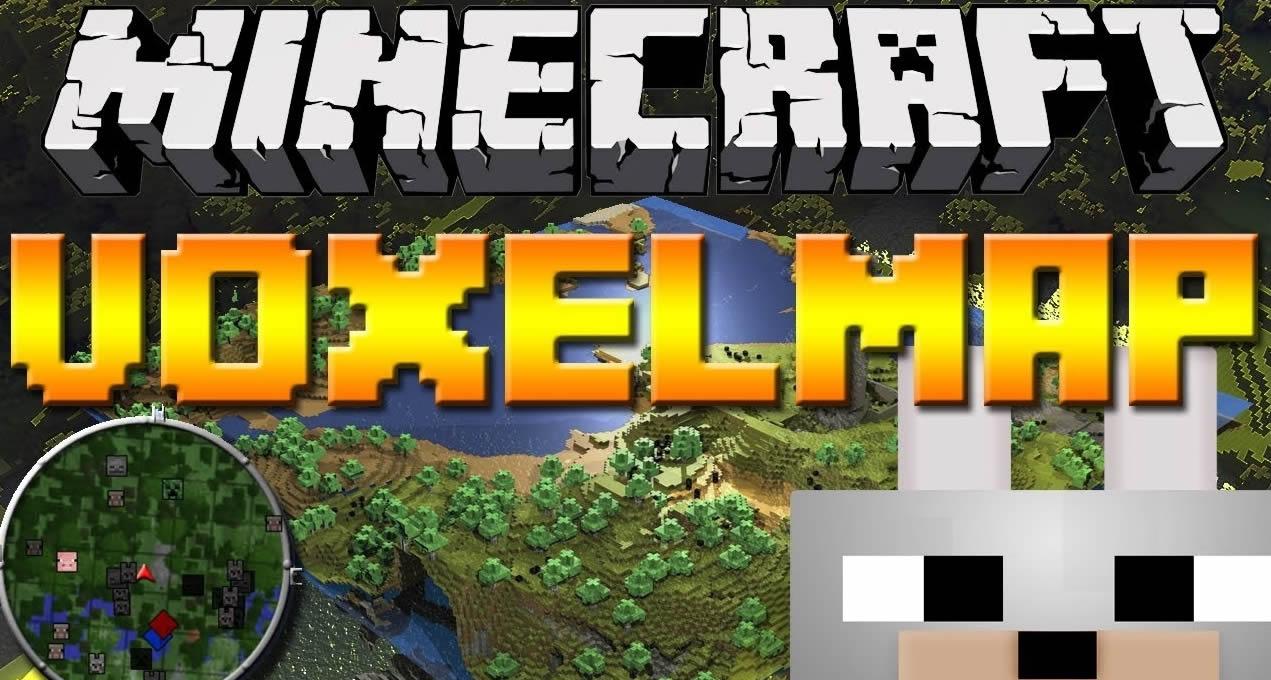 VoxelMap Mod para Minecraft 1.14.4/1.10.2 (Minimapa)